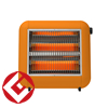 ±0 Infrared Electric<br>Heater Y010<br>全4色