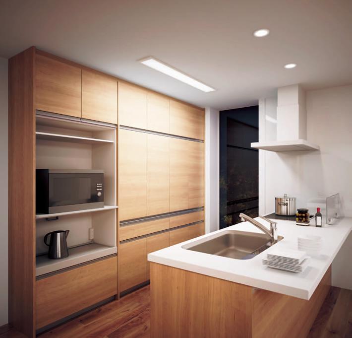 キッチンライトの種類と選び方