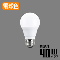 toshiba LDA5L-G/40W E26口金 一般電球形 LEDランプ | 電球色・40W相当