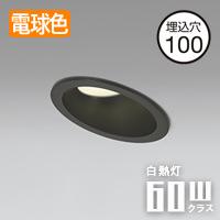 odelic LEDダウンライト OD261300 傾斜天井用 ブラック