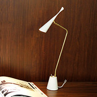 ARTWORKSTUDIO AW-0376E-WH LED�ǥ������� Gossip-LED desk light