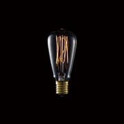 カーボン電球 E17/25W ST-38電球 カーボンアンティーク電球 BU-1160 アートワークスタジオ