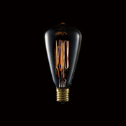 カーボン電球 E17/40W ST48 アンティーク電球 BU-1161 アートワークスタジオ