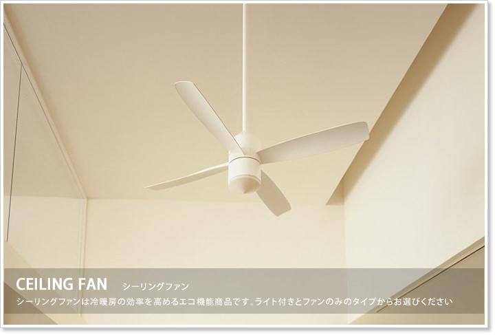 シーリングファン/ライト付き