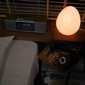 Moon Egg ベッドサイド照明 アートワークスタジオ