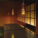 金箔のガラスグローブが魅了する、和室照明