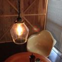 アンティーク家具にもぴったりな、レトロ風ランプ
