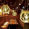青森県の伝統工芸、津軽びいどろの灯り