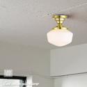 アメリカンレトロな小型シーリング LED対応