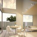 しっかり明るいLEDスポット、天井壁面傾斜面対応