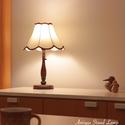 ヨーロピアン調 布セードテーブルライト