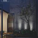外壁や植栽のライトアップにガーデンスポット