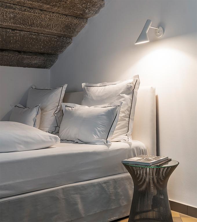 AJウォール ルイスポールセンのブラケットライト (寝室)