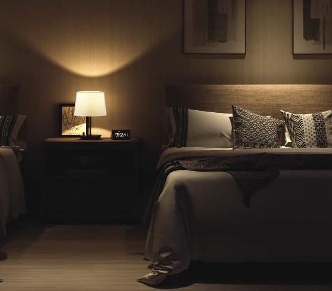 ラグジュアリーな寝室のスタンド (寝室)