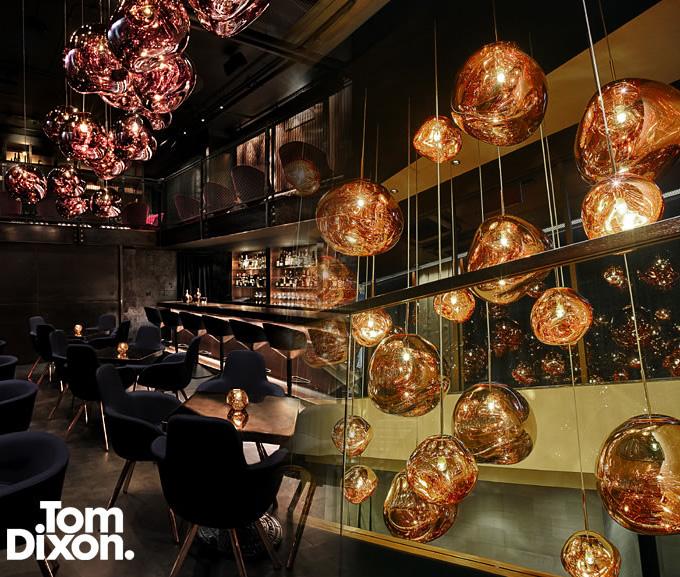 MoMA永久コレクションに選定されるブランド、トム・ディクソン (店舗照明)