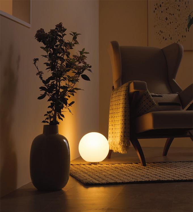 Bluetooth対応 調光・調色フルカラースタンド (店舗照明)