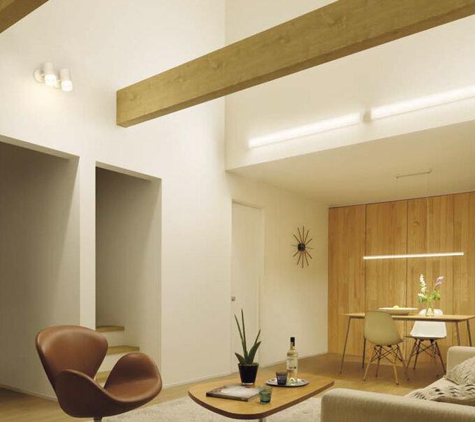 LEDスポットライト連続調光対応 明るい200Wタイプ (吹き抜け)
