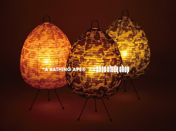 BAPE®️ ABC LAMP 全3色 (和室)