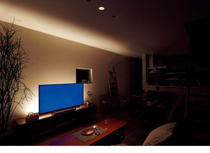 間接照明ホリゾンタルライト120cm 全2色 (間接照明)