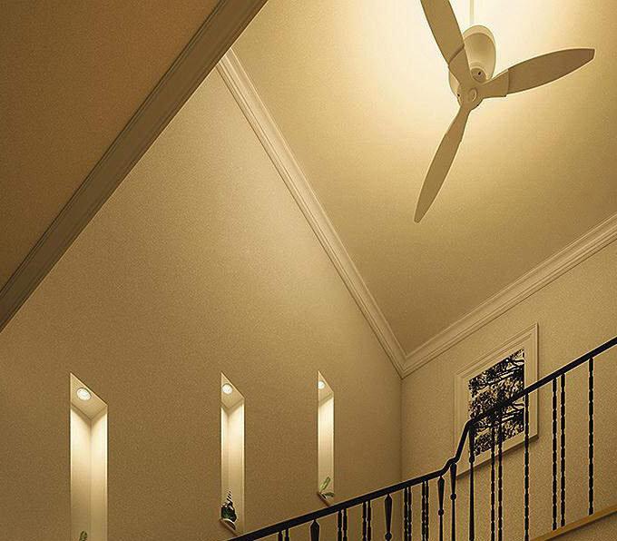 間接照明付 傾斜天井対応 シーリングファン (間接照明)