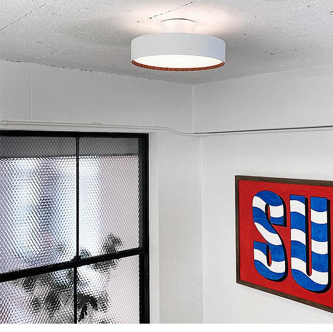 調光調色リモコン付 LEDシーリングライト (間接照明)
