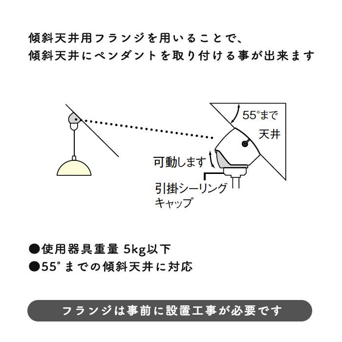 小泉照明 AEE590016 傾斜天井用フレンジ