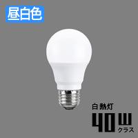 toshiba LDA4N-G/40W E26口金 一般電球形 LEDランプ | 昼白色・40W相当
