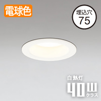 ODELIC 小空間・トイレ用LEDダウンライト OD361066