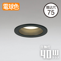 ODELIC 小空間・トイレ用LEDダウンライト OD261020