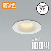 小泉照明 arkia LEDダウンライト 防雨防湿型 AD1108W27
