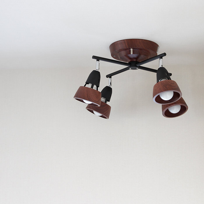 ARTWORKSTUDIO AW-0322BN/BK Harmony X-remote ceiling lamp
