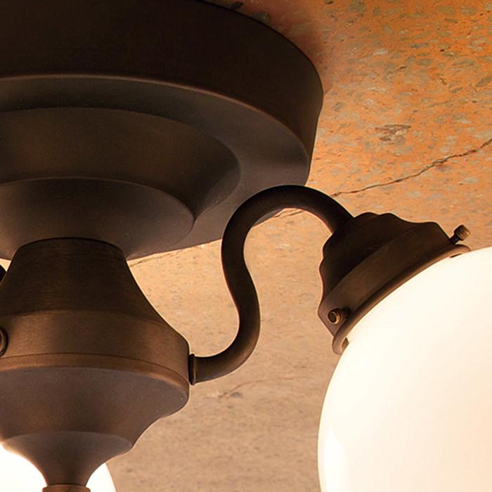 おしゃれなモダンレトロシーリング 5灯タイプ | リモコン式