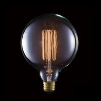 カーボン電球 ボール形 E26/60W G125 BU-1151 アートワークスタジオ