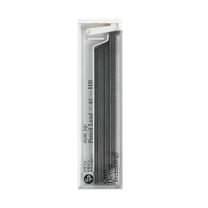 クラフトデザインテクノロジーのシャープペン替芯 40本入り | 0.5mm