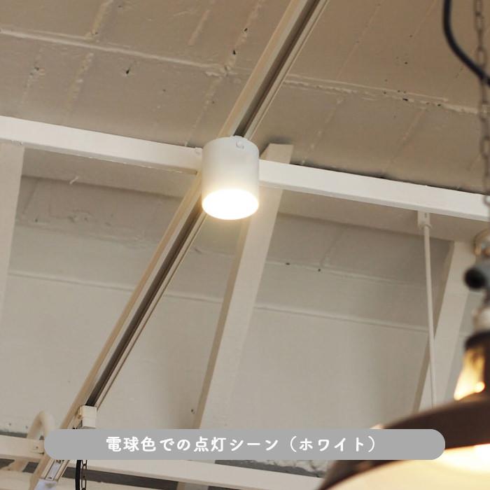おしゃれな光色切替型・LEDベースライト ダクトレール用・100W相当 | ホワイト