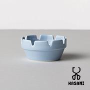 HASAMI SEASON 01 ブロックアッシュトレイ ブルー