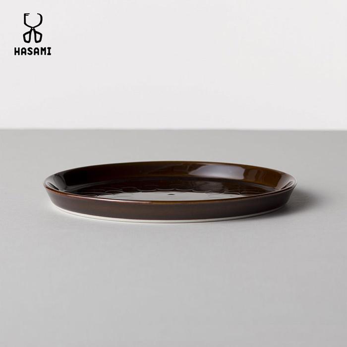 HASAMI × HOUSE INDUSTRIES プレート・ブラウン