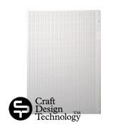 クラフトデザインテクノロジーのクリアファイル・白模様