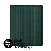 クラフトデザインテクノロジーの30穴バインダー・黒緑