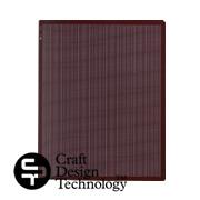 クラフトデザインテクノロジーのポケットファイル・栗色
