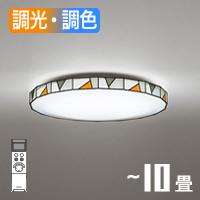 オーデック OL291158 LEDシーリングライト ステンドグラス調