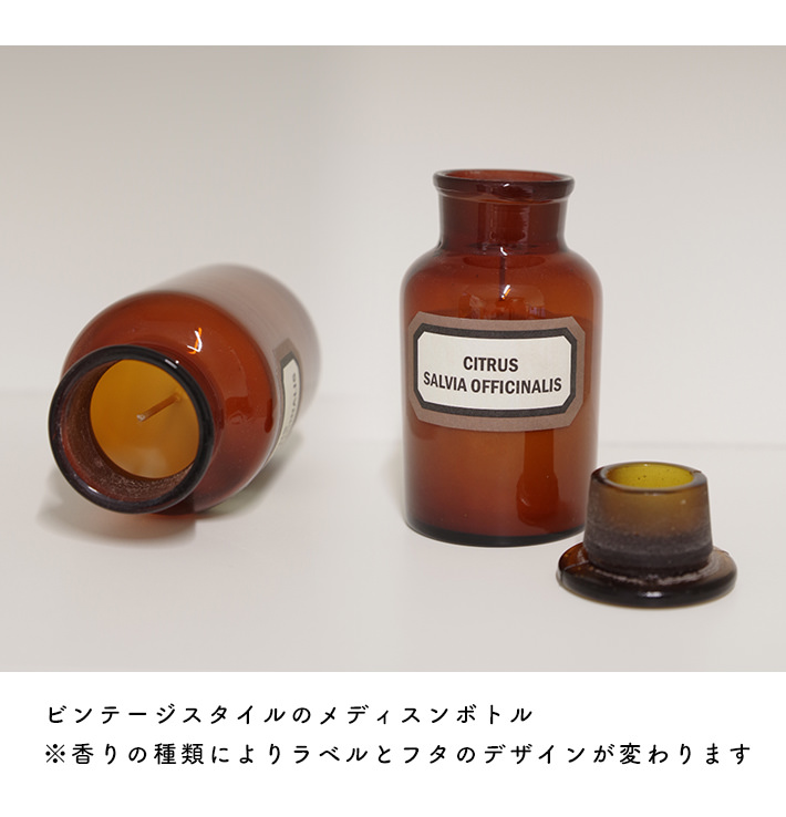 ライムバジル&マンダリン・APOTHECARY MINI CANDLE
