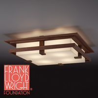 Frank Lloyd Wright ROBIE CEILING(ロビーシーリング) ウォルナット 322L1008