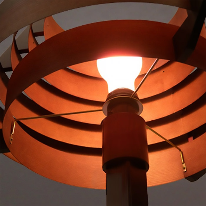 おしゃれなJAKOBSSON LAMP  フロアランプ|ダークブラウン