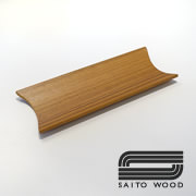 木製トレー・チーク | おしぼり置き SAITOWOOD 4007