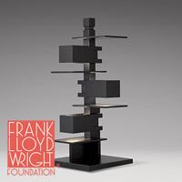 S7349 Frank Lloyd Wright(フランクロイドライト)TALIESIN 4(タリアセン 4)ブラック