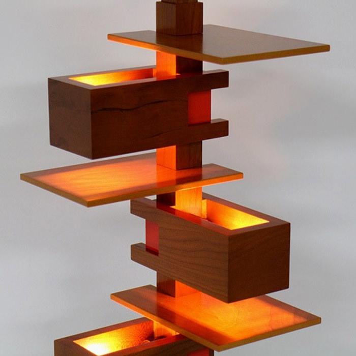 322S7316 Frank Lloyd Wright(フランクロイドライト)TALIESIN 4(タリアセン 4)チェリー