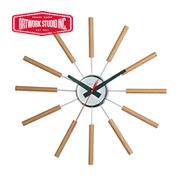 アートワークスタジオ 壁掛時計 ナチュラル(ブナ材)