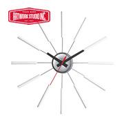 アートワークスタジオ 壁掛時計 ホワイト(ブナ材)TK-2048WH