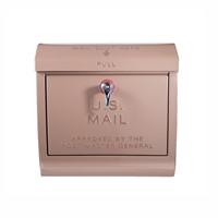 ベージュ色のユーエス メールボックス(U,S, Mail box)アートワークスタジオ